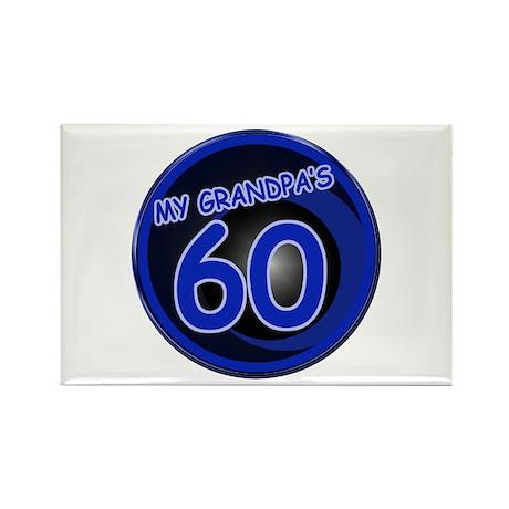 Grandpa Is 60 Rectangle Magnet