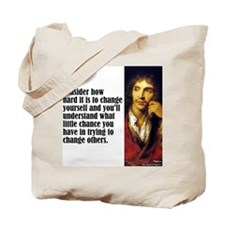 "Moliere ""Change"" Tote Bag"
