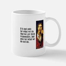 """Moliere """"Responsible"""" Mug"""