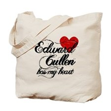 Edward Has My Heart Tote Bag