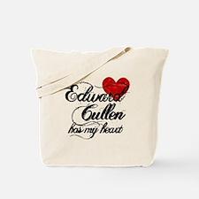 Edward Has My Heart Tote Bag