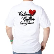 Edward Has My Heart Polo Shirt
