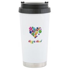 Hippie Heart Travel Mug