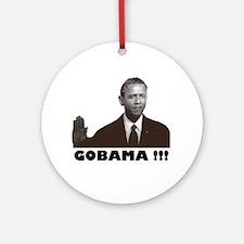 GoBama!!! Ornament (Round)
