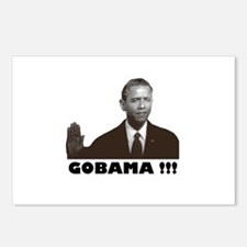 GoBama!!! Postcards (Package of 8)
