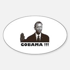 GoBama!!! Oval Decal