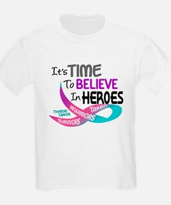 Time To Believe THYROID CANCER T-Shirt
