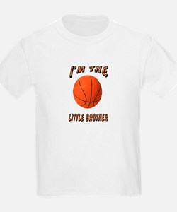 I'm The Little Brother Basket T-Shirt