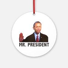 Obama Mr. President Ornament (Round)