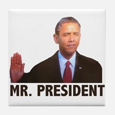 Obama Mr. President Tile Coaster