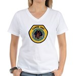 Des Moines Police K9 Women's V-Neck T-Shirt