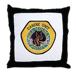 Des Moines Police K9 Throw Pillow