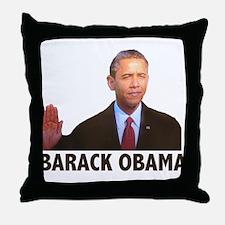 Barack Obama Throw Pillow