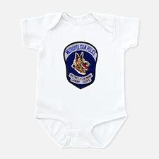 DC Police K9 Corps Infant Bodysuit