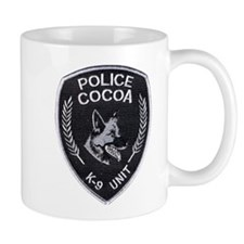 Cocoa Police Canine Mug
