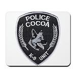 Cocoa Police Canine Mousepad
