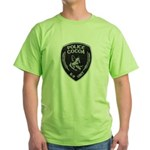 Cocoa Police Canine Green T-Shirt