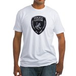 Cocoa Police Canine Fitted T-Shirt