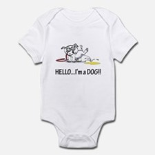 Hello..I'm A Dog! Infant Bodysuit