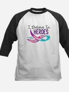 I Believe In Heroes THYROID CANCER Tee