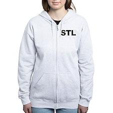 STL (ST. LOUIS) Zip Hoody