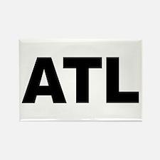 ATL (ATLANTA) Rectangle Magnet
