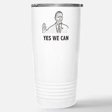 Obama Yes We Can Travel Mug