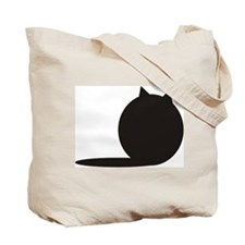 Purrspective Cat Tote Bag