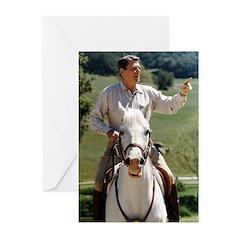 Reagan Horseback Greeting Cards (Pk of 20)