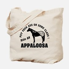 Appaloosa ride with Class Tote Bag