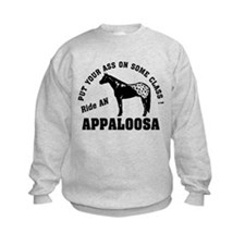 Appaloosa ride with Class Sweatshirt