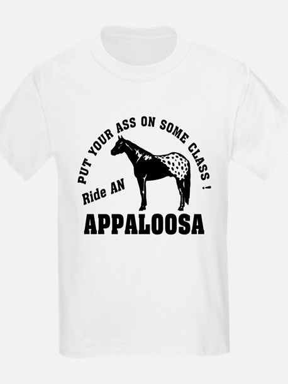 Appaloosa ride with Class T-Shirt
