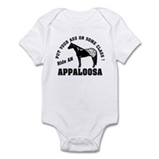 Appaloosa ride with Class Infant Bodysuit