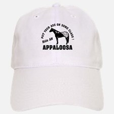 Appaloosa ride with Class Baseball Baseball Cap