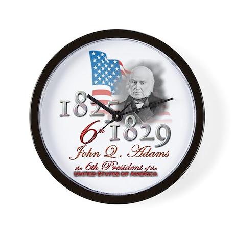6th President - Wall Clock