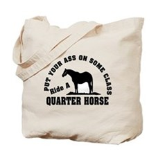 Quarter Horse Ride with Class Tote Bag