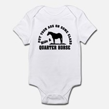 Quarter Horse Ride with Class Infant Bodysuit