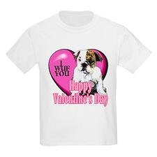 Bulldog Valentines T-Shirt