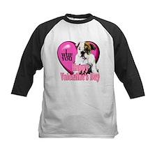 Bulldog Valentines Tee