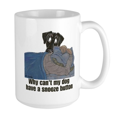 NBk Snooze Button Large Mug
