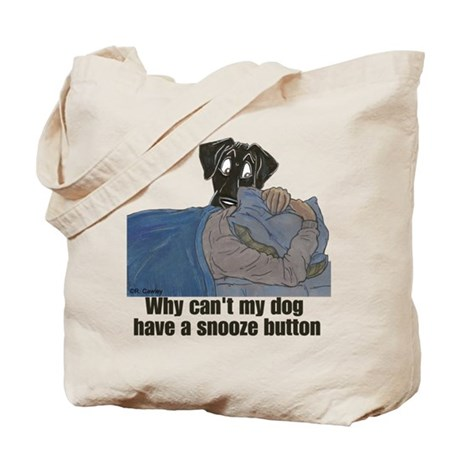 NBk Snooze Button Tote Bag