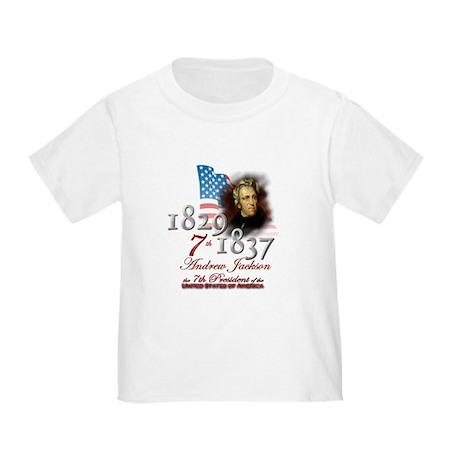 7th President - Toddler T-Shirt