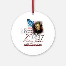7th President - Ornament (Round)