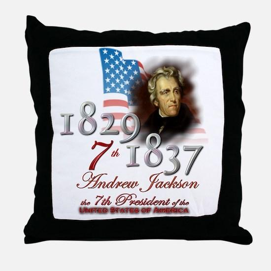 7th President - Throw Pillow