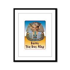 Barry The Boy King Framed Panel Print