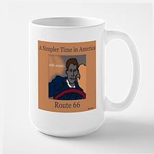Retro Route 66 Large Mug