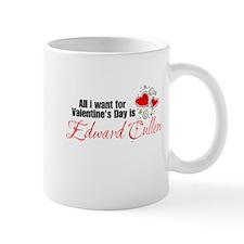 Valentines Day Edward Cullen Mug