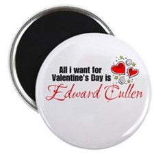 Valentines Day Edward Cullen Magnet