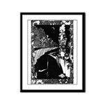 What the Moon Saw Framed Panel Print