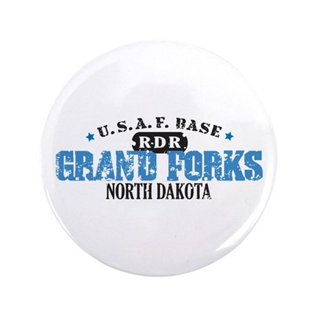 """Grand Forks Air Force Base 3.5"""" Button (100 pack)"""